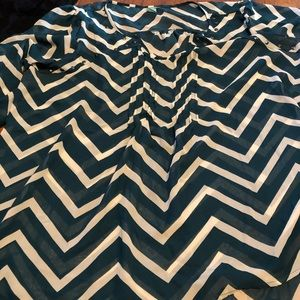 Chevron patterned blouse from target
